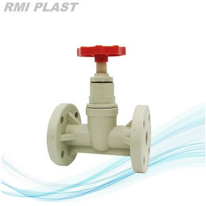 Flange End PVC Globe Valve pictures & photos