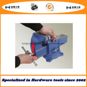 Kt100 Quick-Release Bench Vise Swivel with Anvil Type pictures & photos