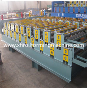 Hot Sale Double Deck Roof Panel Roll Forming Machine (XH1050-1080) pictures & photos