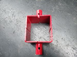 Steel Shoring Base Plate for Frame Scaffold (FF-145) pictures & photos