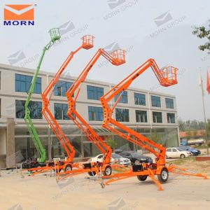14m Trailing Hydraulic Arm Lift Platform pictures & photos