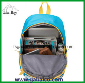 Polyester High School Students Backpack Bag pictures & photos