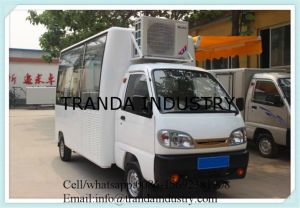 Countertop Chestnut Kitchen Car Soya Bubble Tea Kiosk Milk Tea Mobile Restaurant pictures & photos