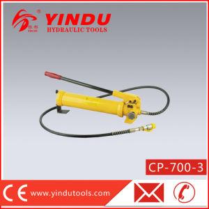 700 Bar Big Oil Capacity Manual Hydraulic Pump (CP-700-3) pictures & photos