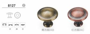 Zinc Classical Furniture Cabinet Kitchen Knob Handle G08123 pictures & photos