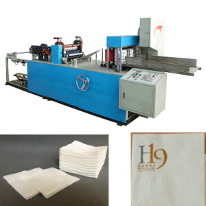Full Automatic Folding Paper Napkin Machine pictures & photos