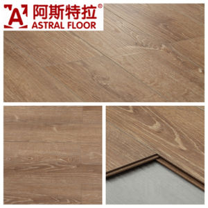 German Technical Mirror Surface (u-groove) Laminate Flooring (AS3503-9) pictures & photos
