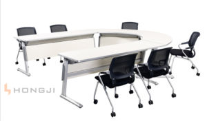 Sectional Office Desk Aluminium Folding Training Table Various Selection for Different Shape in Conference Table pictures & photos