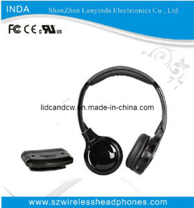 Dual Channel Wireless TV, DVD, DC Headset with Cheap Price (IRH300)