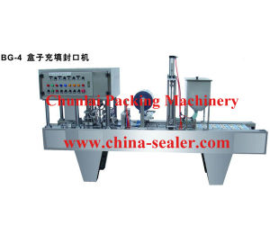 Automatic Tray Filling Sealing Machine pictures & photos