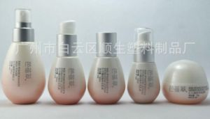 Plastic Lotion Shampoo Bottle for Baby Skin Care Container Bottle Set pictures & photos