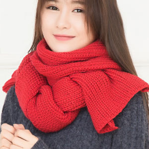 Winter New Style Fashion Warm Women Acrylic Scarf Maker Factory OEM Quality Wholesale