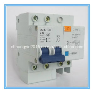 Dz47 2p+N MCB CE Approval 32A Circuit Breaker pictures & photos