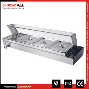 Chinzao China Wholesale Restaurant Equipment Table Top Stainless Steel Bain Marie pictures & photos