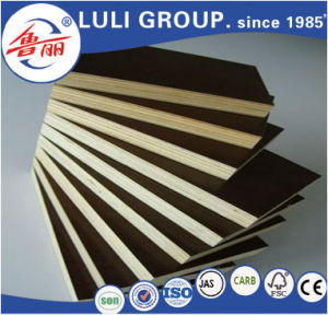 Shandong High Quality 4′*8′ Film Faced Plywood/Okoume Marine Plywood for Wholesale Cheap pictures & photos