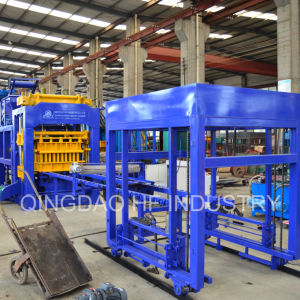 Qt10-15 Automatic Hollow Blocks Paver Cement Brick Making Machine pictures & photos