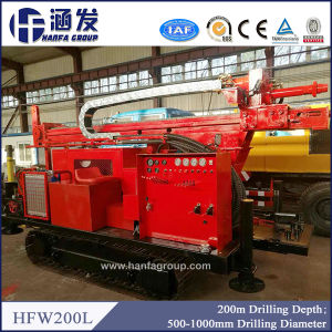 200m Portable Water Well Drilling Rig for Sale pictures & photos