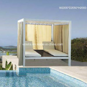 Outdoor Wicker Rattan Outdoor Daybed pictures & photos