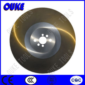 Tin Coated HSS Circular Saw Blade for Cutting Stainless Steel pictures & photos