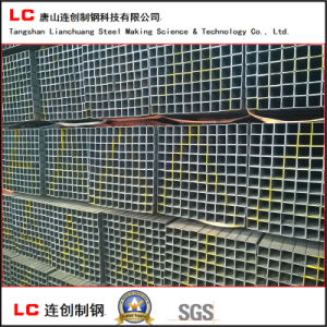 Black Square Steel Pipe for Structure Building with High Quality pictures & photos