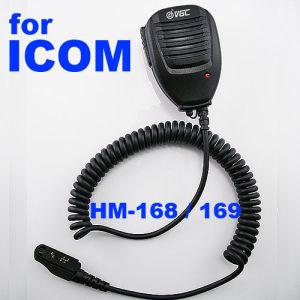 Speaker Microphone Work for Icom F50/F60 Radio (HM-168/169)
