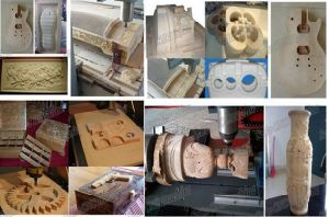 Heavy Duty Woodwork and Head CNC Router pictures & photos