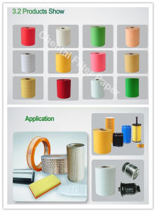 Paper Manufacture Auto Air Filter Paper for Car Filters