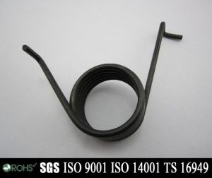 Valve Carbon Steel Torsion Spring for Auto/ Motorcycle Parts