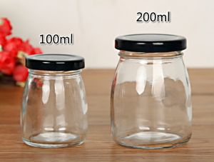 Glass Bottle Packing Honey Jam 100ml 200ml Screw Cap Lid pictures & photos