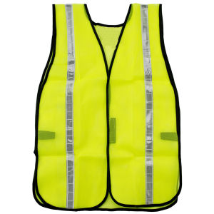 "High Visibility Safety Vest with Hook & Loop Closure and 1"" Reflective Tape pictures & photos"