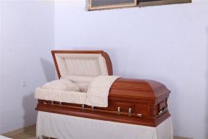 Lower Price Solid Wood Casket