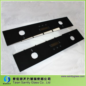 Professional Low Price Silk Printing Tempered Glass for Oven pictures & photos