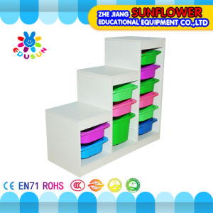 Wooden Toys Rack, Children Educational Toy Cabinet (XYH-0030) pictures & photos