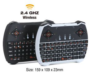 2.4G Mini Wireless Keyboard with Fly Mouse Keyboard with Touchpad Gaming Keyboard for Android