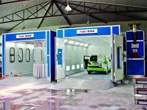 Down Draft Woodfinishing Spray Booth pictures & photos