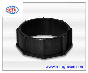 Black Plastic O-Ring Injection Part with ISO SGS