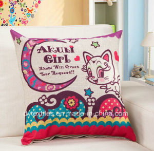 Specifical Design Fashionable Printed 100% Cotton Cushion pictures & photos