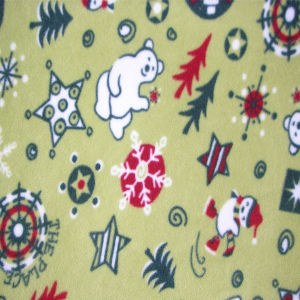 Polar Fleece Fabric for Making Kids Blanket pictures & photos