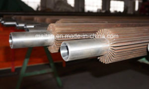 Longitudinal Brass Finned Pipe for Oil and Gas Processing pictures & photos