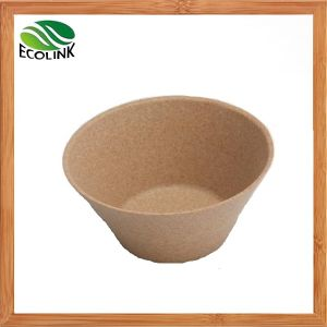 Bamboo Round Powder Tableware Dinner Salad Powder Bowl pictures & photos