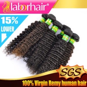"7A 12"" Kinky Curl100% Brazilian Virgin Remy Human Hair Extensions pictures & photos"