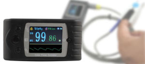 Contec Cms60c Digital Portable Handheld Pulse Oximeter with Software for Child pictures & photos