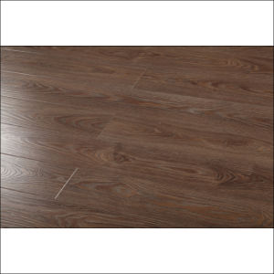 Classical Eir Synchronize Surface Laminate Flooring with V-Groove pictures & photos
