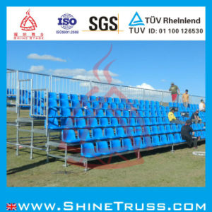Grandstand, Portable Bleacher Seating, Metal Bleacher pictures & photos