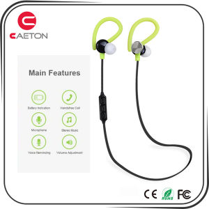 Ear-Hook Bluetooth Earphones Wireless Stereo Headphone with Mic