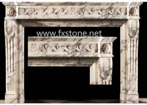 France Deisgn Marble Firepalce (MSDF-003) pictures & photos