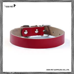 Hunting Dog Collars Leather Collars for Big Dogs Spc7018-2 pictures & photos