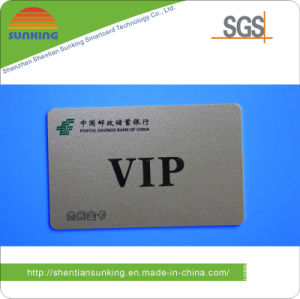 PVC Silver Card for Member