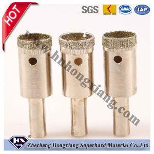 Diamond Hole Saw Coated Drill Bit for Glass pictures & photos