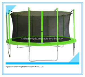 15FT Round Trampoline with Safety Net Enclosure pictures & photos